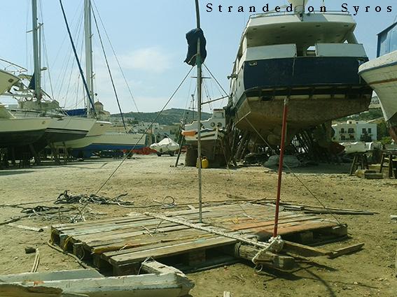 Stranded on syros